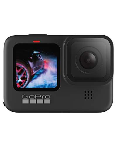 GoPro HERO9 Black - Cámara de acción sumergible con pantalla LCD delantera y pantalla táctil trasera,...