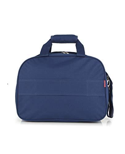 Gabol - Week | Bolso de Viaje Grande de Tela de 42 x 30 x 24 cm con Capacidad para 27 L de Color Azul