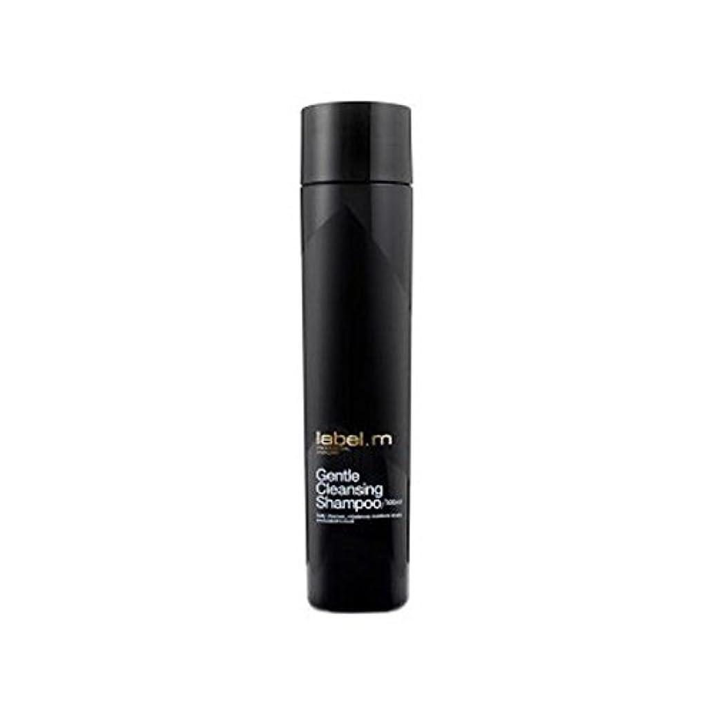 性的爆風短くするLabel.M Gentle Cleansing Shampoo (300ml) (Pack of 6) - .優しいクレンジングシャンプー(300ミリリットル) x6 [並行輸入品]