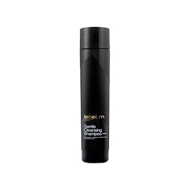 テクスチャータイヤダブルLabel.M Gentle Cleansing Shampoo (300ml) - .優しいクレンジングシャンプー(300ミリリットル) [並行輸入品]