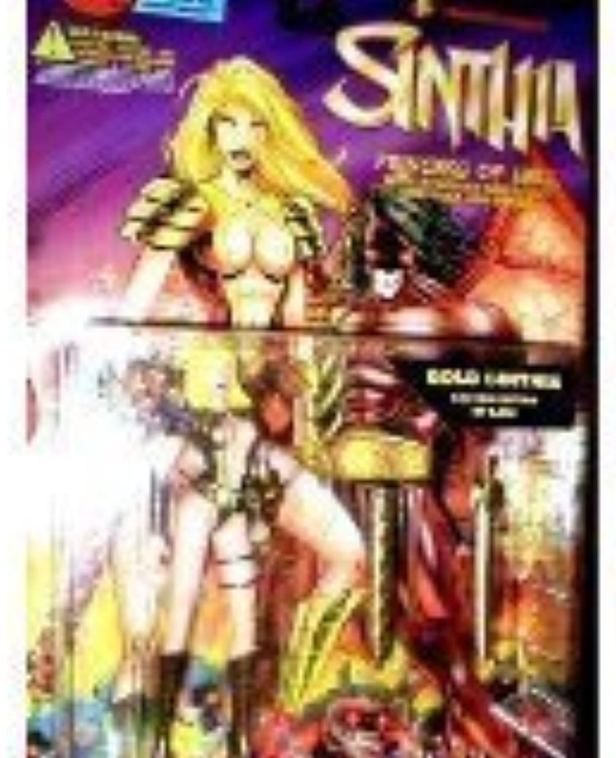 gold Sinthia Limited Edition Action Figure - Lightning Comics' Sinthia  Princess of Hell Series by Skybolt Toyz