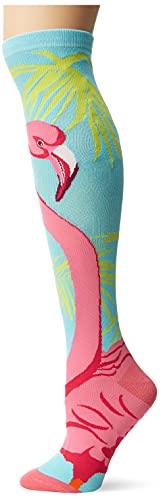 K-Bell–Calcetines de caña Alta, Multicolor, 40,64x 8,89x 1,27cm