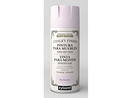 Spray Efecto Tiza Chalk Paint Rust-Oleum Xylazel - Rosa Porcelana