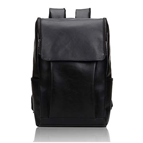 NIYUTA Men's CasualDaypacks HikingBackpacks Canvas Bag Shoulder Bags UK1240 Black
