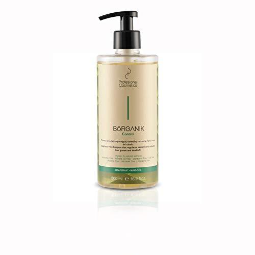 Profesional Cosmetics Borganik Control - Champú sin sulfatos, 500 ml
