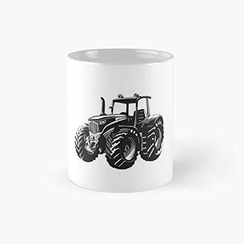 Taza clásica con diseño de tractor | El mejor regalo divertidas tazas de café de 325 ml