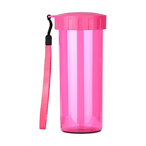 DSWHM Water Bottle Leak Proof Wide Mouth Big Drinking Bottle, Bpa Free Plastic Water Jug Sports Water Container For Outdoors Travel, Gym, Running, School