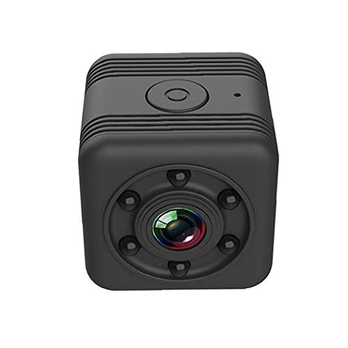 Hainice Cámara inalámbrica Mini Smart WiFi Cámara HD Cámara SQ29 Detección de Movimiento de visión Nocturna portátil para Interiores al Aire Libre Negro