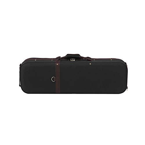 XuZeLii Geigenkoffer 4/4 Größe Klassischer Violingehäuse Mit Hygrometer Oxford Tuch Violine Hard Carry Case Kann Geige speichern (Farbe, Size : 4/4)