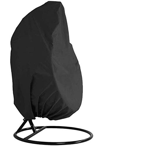 SlimpleStudio Patio Table Covers Fabric Rattan Furniture CoverOutdoor swing chair dust cover 210D black Oxford cloth heavy waterproof balcony chair