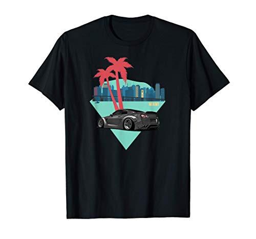 Vestir Automotor Auto JDM Miami Tuning Car Coche Camiseta