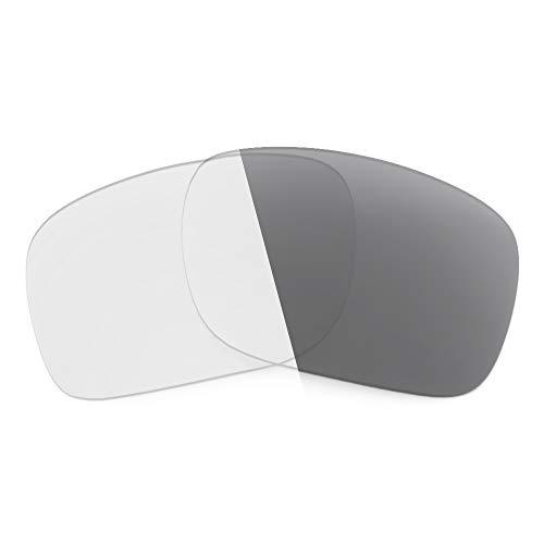 Revant Lentes de Repuesto Compatibles con Gafas de Sol Maui Jim Pokowai Arch, No Polarizados, Gris Fotocromático