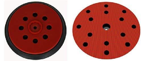 Schleifteller für HILTI WFE 150E Klett-Schleifscheiben Ø 150mm - Stützteller mit 15-Loch Absaugung - in hart medium und soft verfügbar - DFS