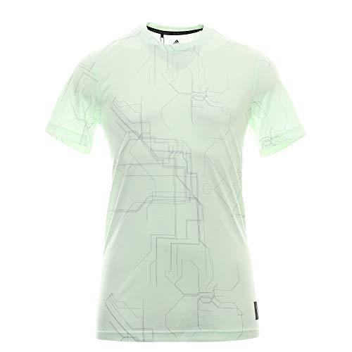 adidas ADIX Graph tee Camiseta, Verde (Verde Dz1657), Medium (Tamaño del Fabricante:M) para Hombre