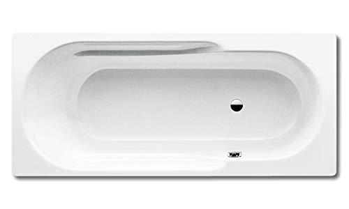 Kaldewei Badewanne Rondo Modell 700 170 x 75 x 43,5 cm, alpinweiß mit Perl-Effekt