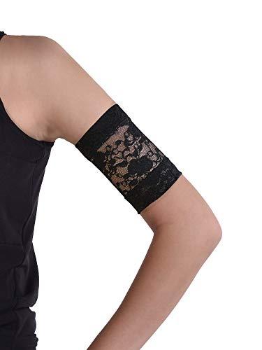 Dia-Band, fascia da braccio in pizzo per sensore di glicemia Freestyle Libre, Medtronic, Dexcom o Omnipod | Fascia in tessuto confortevole per diabetici.