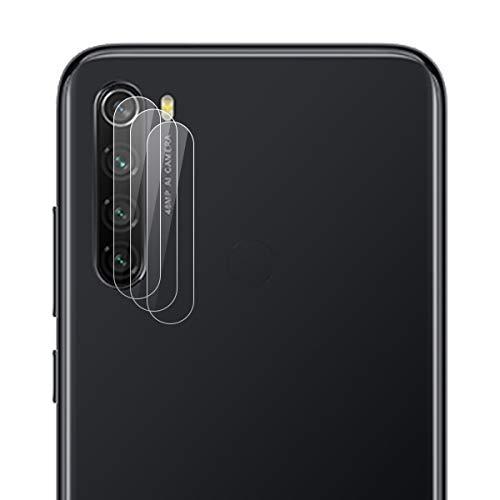 ROVLAK Cámara Protector de Pantalla para Xiaomi Redmi Note 8 Cámara Cristal Templado Protector 3-Pack 9H Anti-explosión Anti-rasguños Cámara Lens Protector para Xiaomi Redmi Note 8