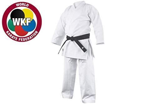 adidas Kata - Kimono de Karate, Color Blanco, tamaño 190 cm