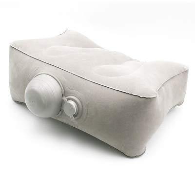 Cojín de almohada multifuncional, cojín inflable de viaje portátil, cojín de avión, cojín de pie, cojín de silla