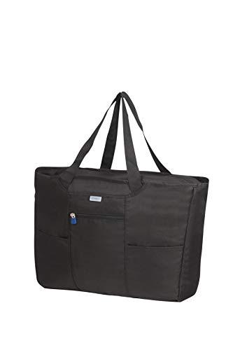 SAMSONITE Global Travel Accessories - Foldable Shopping Tote da viaggio 39 centimeters 1 Nero (Black)