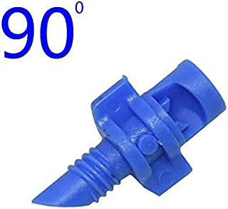 SHUOYUE 90/180/360 Degrees Garden Irrigation Simple Refraction Nozzle Watering Flower Mist Nozzle Threaded Connection Spra...
