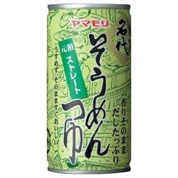 ヤマモリ 名代そうめんつゆ195g缶×30本入×(2ケース)