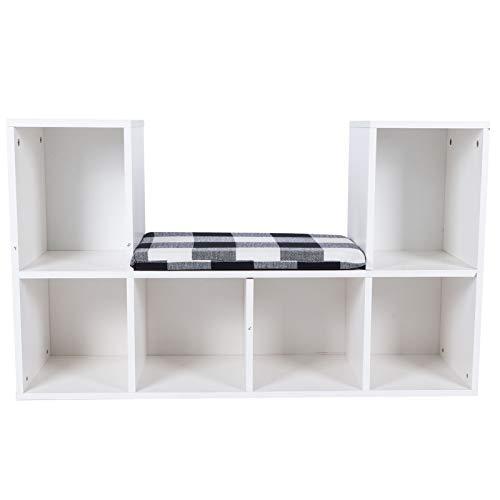BrysonKally Multifunctional Wooden Storage Shelf Bookshelf Bookshelf Home Office Use New With Reading Corner