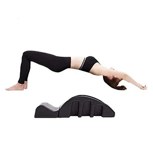 YF-SURINA Équipement de fitness Lit de massage Pula Curved Table de massage Correcteur de la colonne vertébrale Pilates Lit de massage Colonne vertébrale Le correcteur de colonne vertébrale aide à so