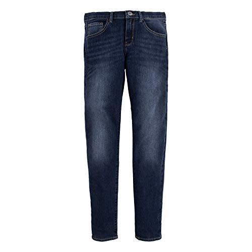 Levi's Big Girls' 710 Super Skinny Fit Classic Jeans, Blue Asphalt, 12