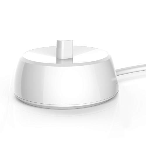 Für Oral B Ladestation Elektrische Zahnbürsten Ladegeräte 3757, Ladegerät Für Oral-B zahnbürste IP67 Wasserdichtes Netzkabel Umwelt ABS