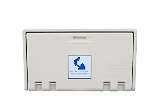 AHD 107-00 Cream Horizontal Baby Changing Station