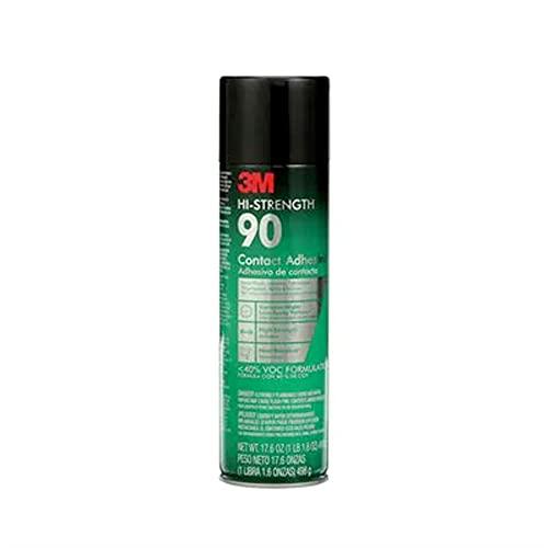 3M High Strength 90 Contact Spray Adhesive, 17.6-Ounces.