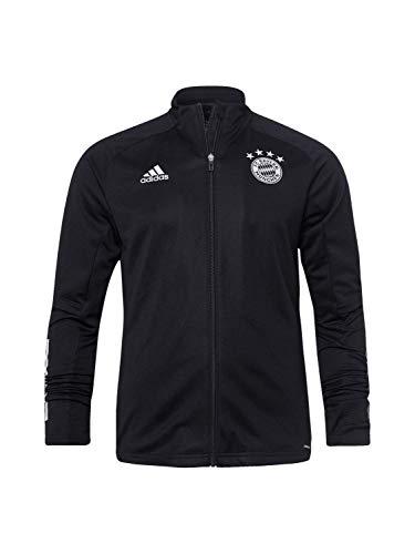 adidas Herren 20/21 FC Bayern Track Jacket Trainingsjacke, Black/Fcbtru, S