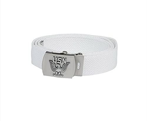Mil-Tec - Cinturón de seguridad para hombre, color blanco