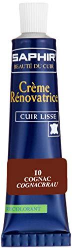 avis cognac rapport professionnel SAPHIR Cirage Chaussure Renovation Crème Tube Cognac 25 ml