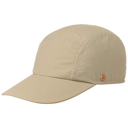 Mayser Mütze Kappe Riccardo Sunblocker Cap Sportcap Fullcap (55 cm - beige)