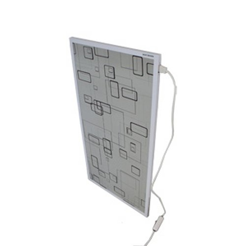 Mauk Infrarot Bild Wandheizung Modern Box 600 W grau 1645