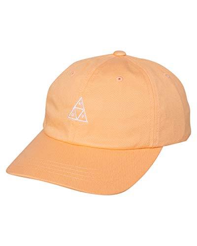 HUF Gorra de béisbol Triple Triangle con Visera Curvada Albaricoque