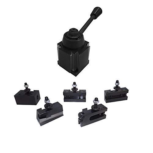 """10-15"""" CNC Lathe BXA Wedge Quick Change Tool Post Lathing 250-222 250-201 Holder"""