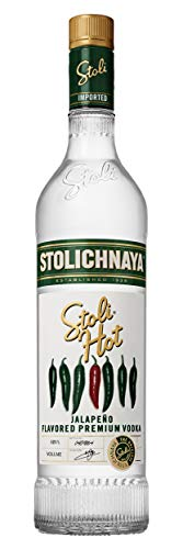 Stolichnaya Vodka SPI STOLI HOT Jalapeño Flavored Premium Vodka 37,5% Vol. 0,7 l