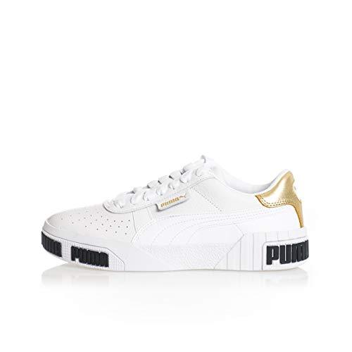 Sneakers Donna PUMA Cali Bold Metallic 371207.01 (37 White Gold)