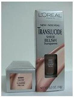 L'Oreal Translucide Luminous Gel blush, TOUCH OF BLUSH