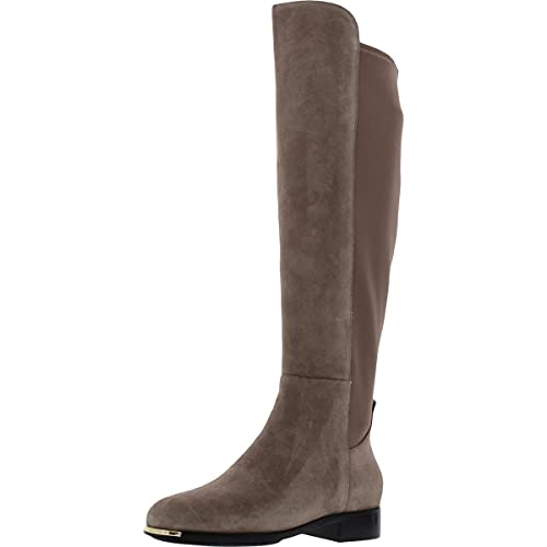 Cole Haan Grand Ambition Huntington Over-The-Knee Boot Walnut Noble Suede 6.5 B (M)