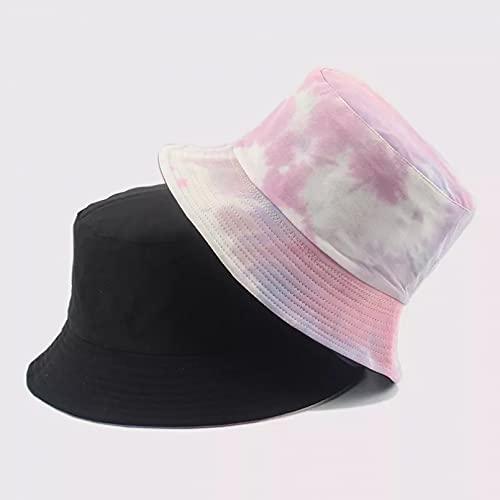 Fischerhut aus Baumwolle mit Farbstoff für Flache Fischerhüte im Herbst und Winter Unisex UV-Schutz Fischerhut Sonnenhut Malerhut Geschenk