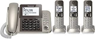 PANASONIC Corded / Cordless Phone System with Answering Machine and One Touch Call..