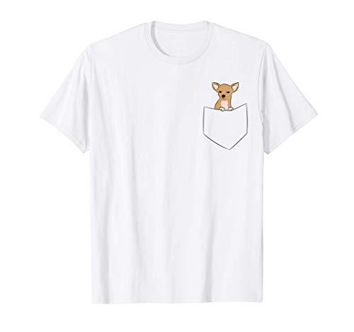 Perro Chihuahua de bolsillo Chihuahua Camiseta