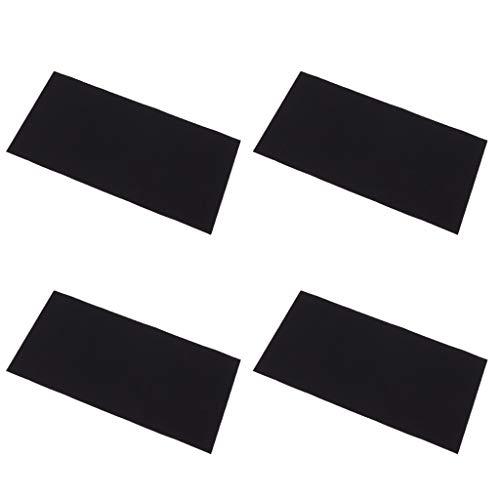 F Fityle 4 Piezas Cintas de Parche de Hierro de Bajada Autoadhesiva Acerca de 20 × 10 cm