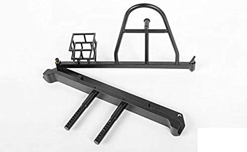 RC4WD - Tough Armor Swing Away Tire Carrier w Fuel Holder - RC4ZX0051
