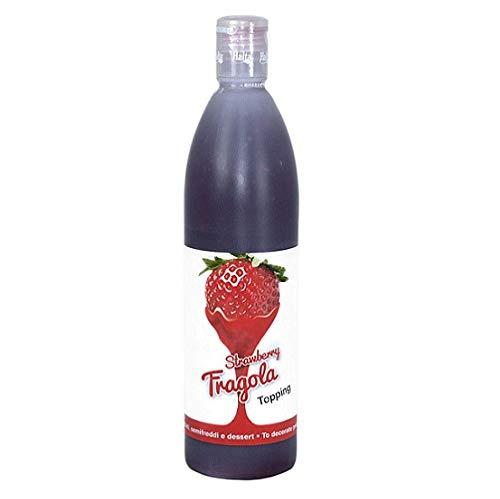 Halta Topping Fragola sauce Erdbeere 650 g für Desserts Kuchen Eis