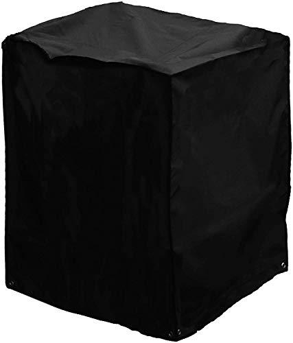 Bosmere Storm Black kleine quadratische Abdeckhaube für Feuerschale